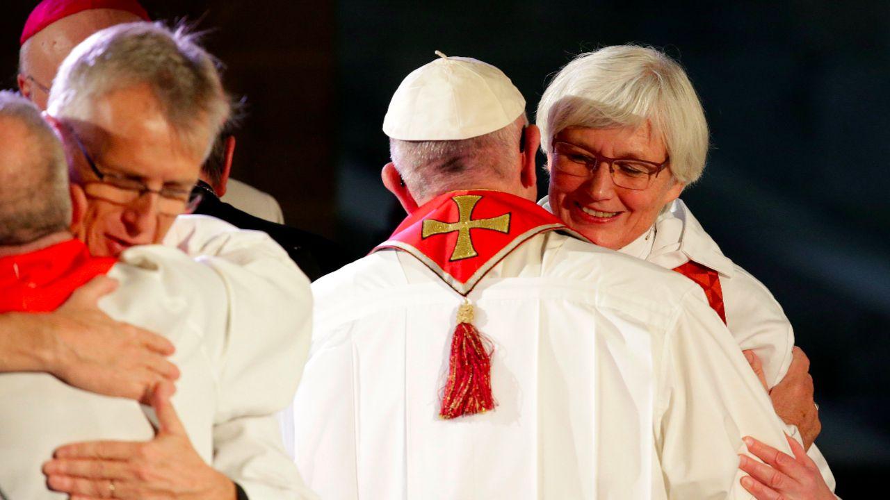 zurechtweisung des papstes